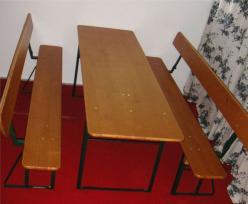 erwin irlbeck biergarnituren und stehtische. Black Bedroom Furniture Sets. Home Design Ideas